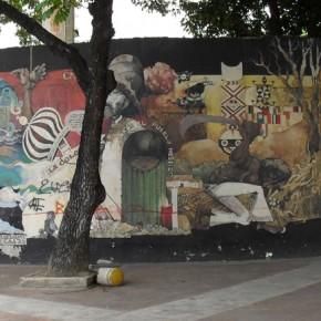 Historic Mural in Caracas