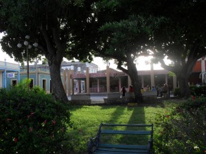 Plaza in Gibara