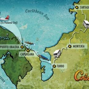 Cartagena - Capurgana - Panama City