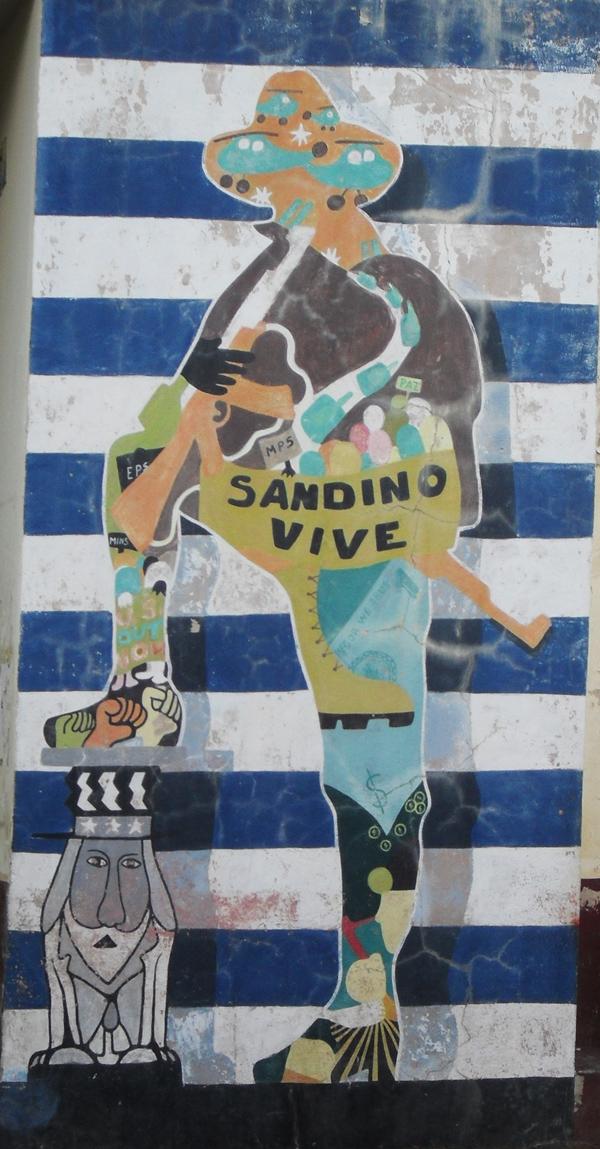 Mural from Nicaragua