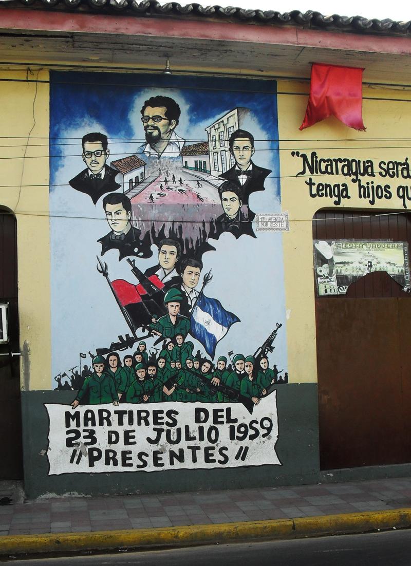 Martyrs-Mural