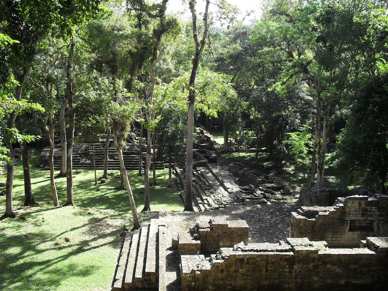 Ruins at Copan