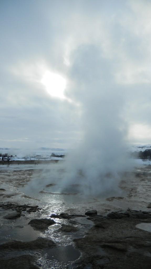 geyser Strokkur in iceland